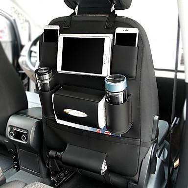 levne Organizéry do auta-nový autosedačku tašku visí tašky kapesní kapesníky kapesníky kapesník držák autosedačky zadní sedák multifunkční pu úložný vak