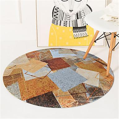 preiswerte Teppiche-1pc Freizeit / Modern Badewannematten Korallen-Velvet Kreativ / Geometrisch / Neuheit Bad Rutschfest