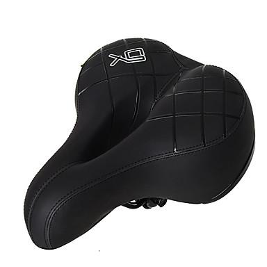 povoljno Dijelovi za bicikl-Sjedalo Izuzetno široka Udobne Jastuk Šuplji dizajn PU Čelik Biciklizam Cestovni bicikl Mountain Bike Rekreativna vožnja biciklom Crn