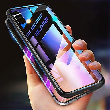 povoljno iPhone maske-Θήκη Za Apple iPhone XS / iPhone XR / iPhone XS Max Otporno na trešnju / Prozirno / S magnetom Korice Jednobojni Tvrdo Metal
