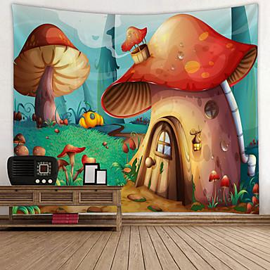 cheap Wall Tapestries-Garden Theme / Fairytale Theme Wall Decor 100% Polyester Modern Wall Art, Wall Tapestries Decoration