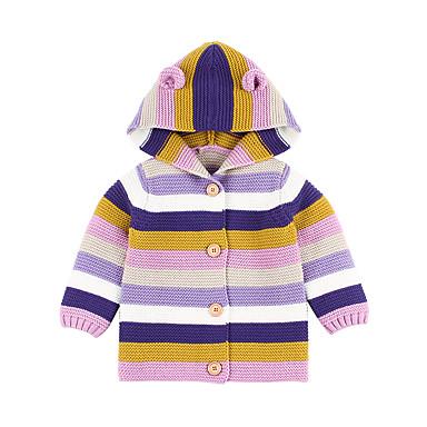povoljno Odjeća za bebe-Dijete Djevojčice Osnovni Duga Naborano Normalne dužine Odijelo i sako Plava / Dijete koje je tek prohodalo