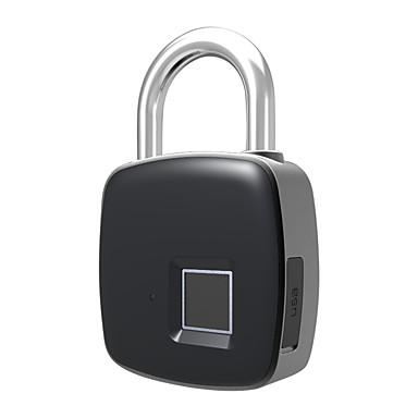 P3 Liga de Zinco Fechamento da impressão digital / Bloqueio Inteligente / Cadeado de impressão digital Segurança Doméstica Inteligente Sistema Desbloqueio de impressão digital Lar / Escritório