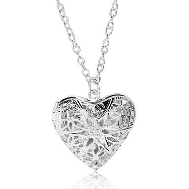 povoljno Modne ogrlice-Žene Ogrtači ogrlica Srce Korejski Moda Krom Pink 44 cm Ogrlice Jewelry 1pc Za Dnevno Izlasci Kamado roštilj