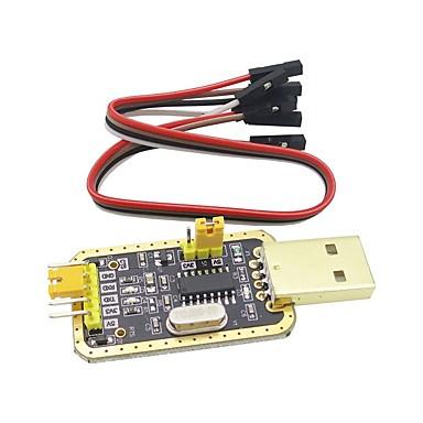 levne Elektrické vybavení-ch340g rs232 liter usb na ttl modul do sériového portu v devíti upgrade malé desky
