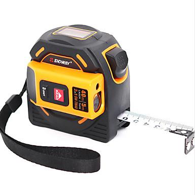 levne Vodováhy-SNDWAY SWTM40 40M Laserový snímač vzdálenosti Prachuodolné / Vysoká kvalita / vysoká účinnost pro inteligentní domácí měření / pro technické měření / pro výstavbu budov