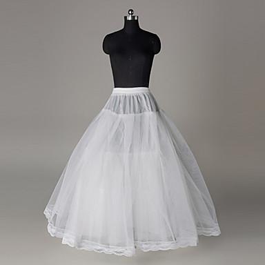 เจ้าสาว โลลิต้าแบบคลาสสิก 1950s หนึ่งชิ้น ชุดเดรส Petticoat กระโปรงผายก้น สำหรับผู้หญิง เด็กผู้หญิง เครื่องแต่งกาย ขาว Vintage คอสเพลย์ ตูเล่ งานแต่งงาน ปาร์ตี้ เจ้าหญิง