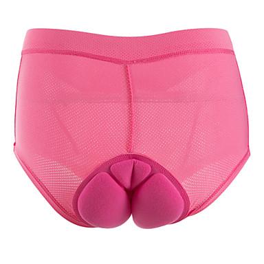 Outdoor Sports Underwear Shorts Biking Briefs with 3D Padded Gel for Women