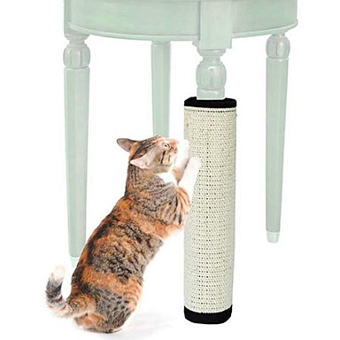 cheap Cat Clothing & Accessories-Scratching Board Cat Pet Toy 1pc Pet Friendly Collapsible Sisal Gift
