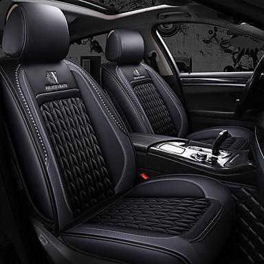 voordelige Auto-interieur accessoires-nieuwe vier seizoenen algemene autostoel volledige hoes en kussen voor vijfzits auto / pu leer / airbag compatibiliteit / verstelbaar en afneembaar / gezinsauto / suv