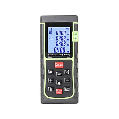 preiswerte Füllstand-Messgeräte-Laser-Entfernungsmesser mit Messgerät zum Messen von Wasserwaagen-Messgerät Lineal Testwerkzeug 40m