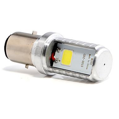 billige Automotiv-1pcs BA20D Motorsykkel Elpærer 4 W COB 450 lm 1 LED Tåkelys Til Alle år