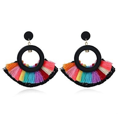 povoljno Modne naušnice-Žene Viseće naušnice Naušnice Raffia pletena Duga Etnikai Naušnice Jewelry Duga Za Dar 1 par
