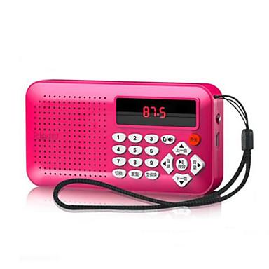 cheap Radio-OEM FM / AM Playlists Supported / Sound adjustable / MP3 Player Mini SD Card World Receiver Black / Fuchsia / Blue