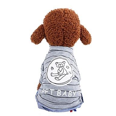 431003818c962b Psy Stroje Dżinsowa kurtka / Jeansowa kurtka Ubrania dla psów Solidne  kolory Charakter Szary Różowy Brąz Tkanina Kostium Na Corgi Beagle Buldog  Wiosna ...