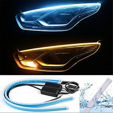 preiswerte Taglichter-2pcs Kabelverbindung Auto Leuchtbirnen 13 W SMD 2835 800 lm 168 LED Tagfahrlicht / Blinkleuchte / Rücklicht Für Universal Alle Jahre