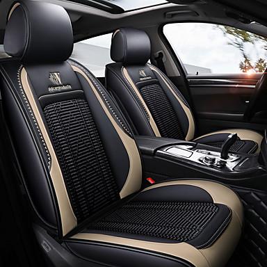 voordelige Auto-interieur accessoires-nieuwe vier seizoenen gm autostoel volledige hoes en kussen voor vijfzits auto / pu leer en ijszijde materiaal / airbag compatibiliteit / verstelbaar en afneembaar / gezinsauto / suv