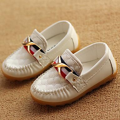 preiswerte Schuhe für Kinder-Jungen Komfort PU Loafers & Slip-Ons Kleinkind (9m-4ys) / Kleine Kinder (4-7 Jahre) Schnalle Schwarz / Braun / Blau Frühling / Party & Festivität / TPR (Thermoplastisches Gummi)