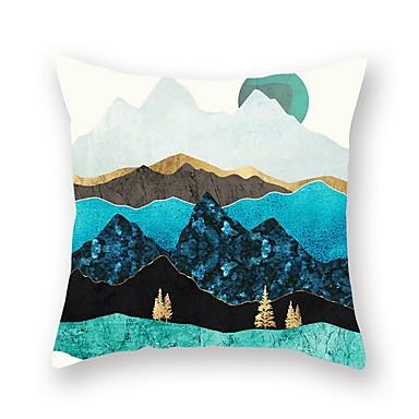 1 stk Polyester Monogram, Art Deco Mønstret Kunstnerisk Moderne