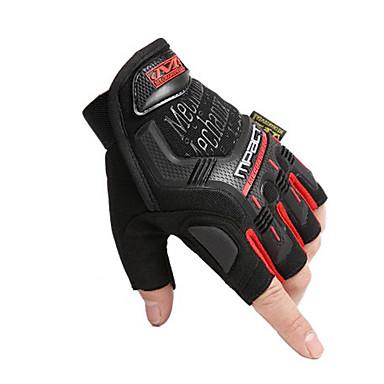 Half-prst Uniseks Moto rukavice Vlakno / najlon PVA Prozračnost / Otporno na nošenje / Ne skliznuti