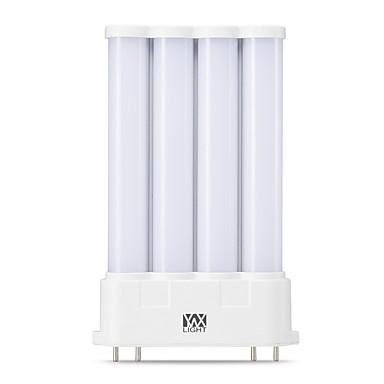 [$18 71] YWXLIGHT® 1pc 10 W LED Bi-pin Lights Tube Lights 1000 lm 2G10 T 42  LED Beads SMD 2835 Warm White Natural White 90-260 V