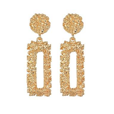 1ea4bac76654 Mujer Geométrico Pendientes colgantes Aretes Europeo De moda Modern Joyas  Dorado   Plata   Oro Rosa Para Carnaval Trabajo Bar 1 Par 7167704 2019 –   3.99