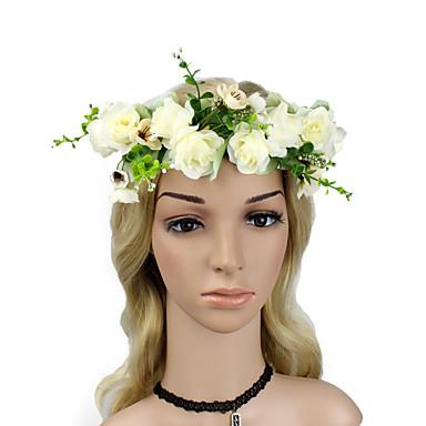povoljno Party pokrivala za glavu-Pjena s Cvijet 1 komad Dnevni Nosite Glava