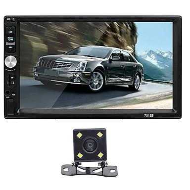 levne Auto Elektronika-SWM 7012+4LED camera 7 inch 2 Din Ostatní OS Auto MP5 přehrávač Dotykový displej / MP4 / Zabudovaný Bluetooth pro Evrensel RCA / VGA / MicroUSB Podpěra, podpora Mpeg / MPG / WMV mp3 / WMA / WAV JPEG