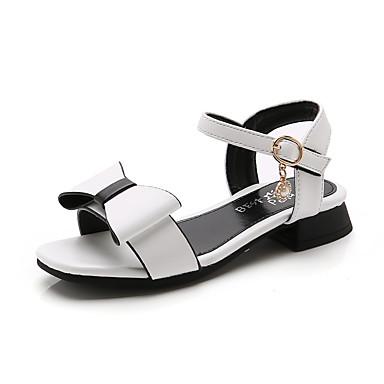 a25adaa4a للفتيات أحذية PU الصيف مريح صنادل إلى طفل (9M-4ys) أبيض / زهري 7201760 2019  – $13.99