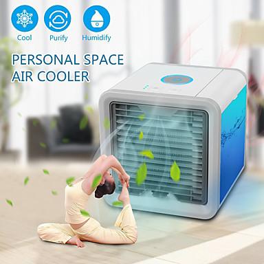 preiswerte Hausbedarf-Luftkühler Luftreinigungsapparat mit USB-Anschlüssen Kunststoff ON / OFF