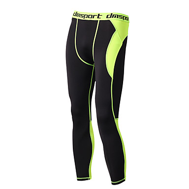 668959e7ac1c5 Men's Compression Pants Compression Base layer Tights Bottoms Plus Size  Lightweight Breathable Quick Dry Soft Sweat-wicking Black / Green Winter  Road Bike ...