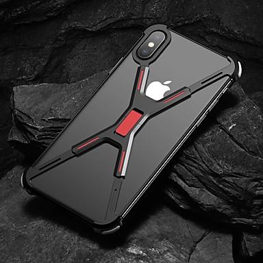 povoljno iPhone maske-Θήκη Za Apple iPhone XS / iPhone XR / iPhone XS Max Otporno na trešnju Stražnja maska Jednobojni Tvrdo Aluminij