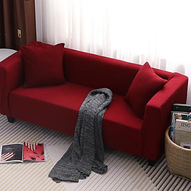 Phenomenal 43 99 Sofa Cover Solid Colored Classic Contemporary Reactive Print Elastic Woven Satin Slipcovers Machost Co Dining Chair Design Ideas Machostcouk