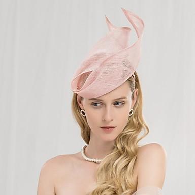 povoljno Party pokrivala za glavu-100% posteljine Trake za kosu s Jedna boja 1pc Vjenčanje / Zabava / večer Glava
