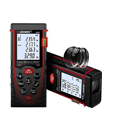 levne Vodováhy-SNDWAY SW-60 60m Laserový snímač vzdálenosti Voděodolné / Prachuodolné / Ruční ovládání pro inteligentní domácí měření / pro technické měření / pro výstavbu budov