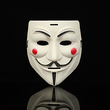 Mask Halloween Mask Inspired By V For Vendetta Scary Movie White