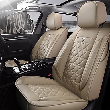 preiswerte Innenraum Autozubehör-5 sitze vier jahreszeiten universal sitzbezug / pu leder./airbag kompatibilität / fiadjustable und abnehmbare / fünf farben zur auswahl
