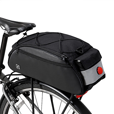 Large Capacity Polyester Bike Front Basket Waterproof Handlebar Bag GN