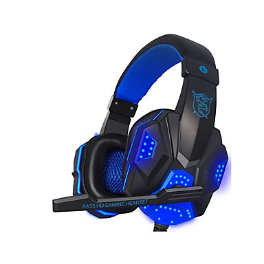 cheap Headphones & Earphones-LITBest PC780 LED Lights Gaming Headset Stereo Surround Sound Noise Cancelling Wired Gamer Headphones PUBG LOL DOTA Gamer Earphone With Mic Auriculares for PC