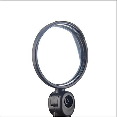 billige Sykkeltilbehør-Bakspeil Bar End Bike Mirror Konvekst speil justerbar Fleksibel Støtsikker Vid baksynsvinkel Sykling motorsykkel Sykkel Plastikker Harpiks Svart Vei Sykkel Fjellsykkel