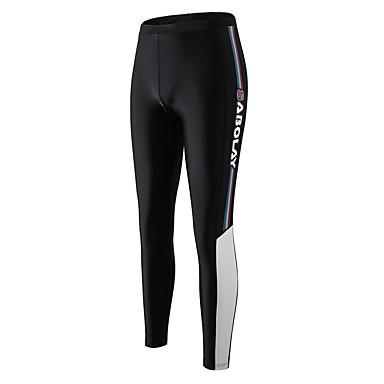 SABOLAY สำหรับผู้ชาย Dive Skin Leggings Elastane ด้านล่าง ระบายอากาศ การว่ายน้ำ Snorkeling สีพื้น ฤดูร้อน / ผสมยางยืดไมโคร