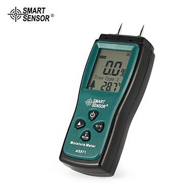 levne Testovací, měřící a kontrolní vybavení-inteligentní senzor as971 vlhkoměry vlhkost tester dřeva vlhkost detektoru digitální lcd displej detektor rozsah 2% -70%