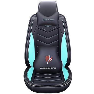 billige Interiørtilbehør til bilen-Forsiden bakside Universell bil sete dekker nakkestøtter og talje pute sett Luxury Vehicle tilbehør for Universal / polyester / Leatherette / bomull virksomhet