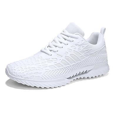 สำหรับผู้ชาย รองเท้าสบาย ๆ Tissage Volant ฤดูร้อน รองเท้ากีฬา สำหรับวิ่ง สีดำ / สีฟ้า / ขาว