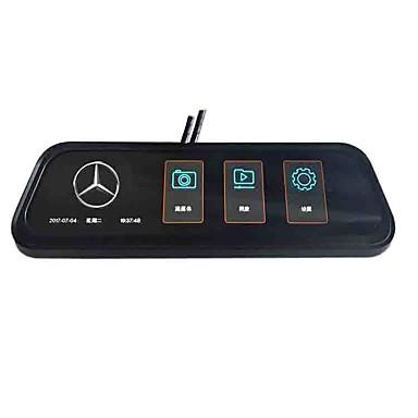 preiswerte Auto DVR-Vollbild-Rückspiegel Streaming Media Auto DVR 170 Grad Weitwinkel 10 Zoll Ips Schlag Nocken mit Nachtsicht / G-Sensor / Parkplatz Überwachung Auto Recorder