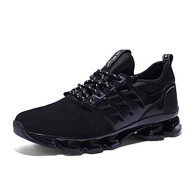 สำหรับผู้ชาย Fashion Boots Tissage Volant ฤดูร้อนฤดูใบไม้ผลิ Sporty / ไม่เป็นทางการ รองเท้ากีฬา สำหรับวิ่ง / วสำหรับเดิน ระบายอากาศ รองเท้าบู้ทหุ้มข้อ สีดำ / สีเขียว / แดง / การกรีฑา / ไม่ลื่นไถล