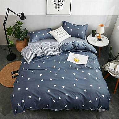 ชุดผ้าปูที่นอนผ้านวมรุ่น polyster ลายดอกไม้ 4 ชิ้น