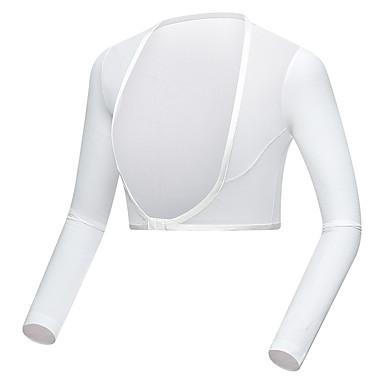TTYGJ สำหรับผู้หญิง POLO Shirt แขนยาว เทนนิส Athleisure กลางแจ้ง ฤดูใบไม้ร่วง ฤดูใบไม้ผลิ ฤดูร้อน / ผสมยางยืดไมโคร / แห้งเร็ว / ระบายอากาศ