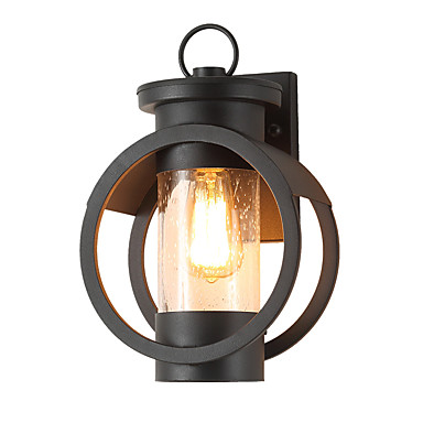 126 81 Qingming Waterproof Mini Style Retro Country Flush Mount Wall Lights Outdoor Garden Metal Light Ip65