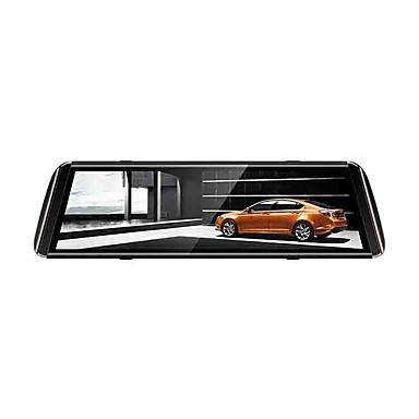 levne Auto Elektronika-1080p streaming media zpětné zrcátko auto dvr 150 stupňů širokoúhlý 10 palců ips pomlčka vačka s nočním viděním / g-senzor / parkovací monitor auto rekordér